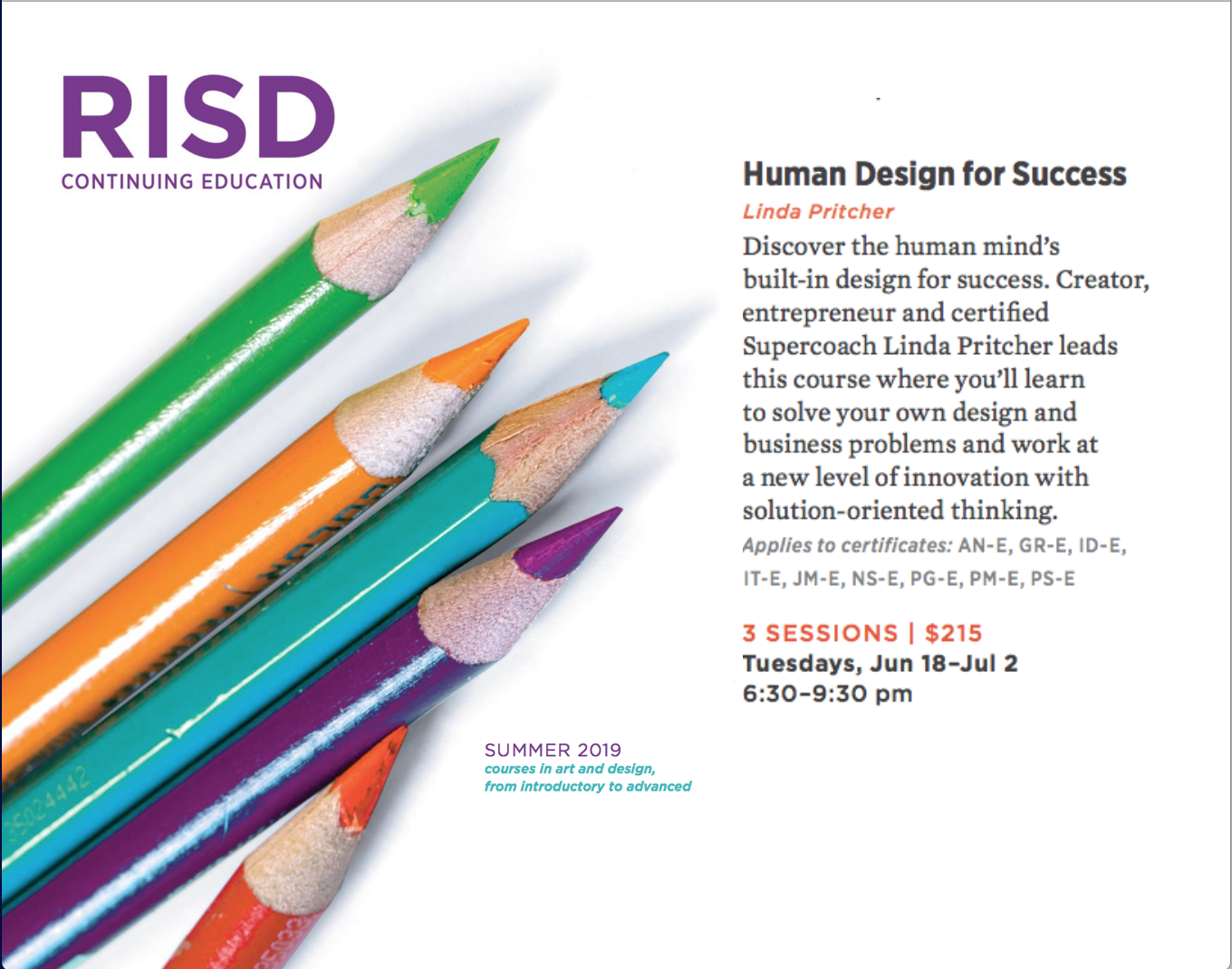 RISD Human Design Course